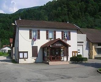 Saint-Joseph-de-Rivière - The town hall of Saint-Joseph-de-Rivière