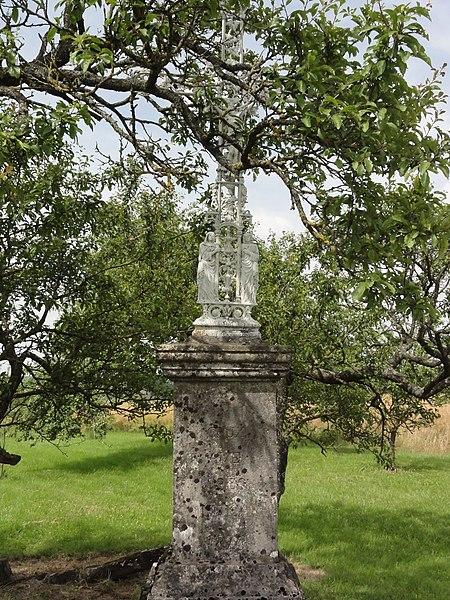 Saint-Rémy-aux-Bois (M-et-M) croix de chemin