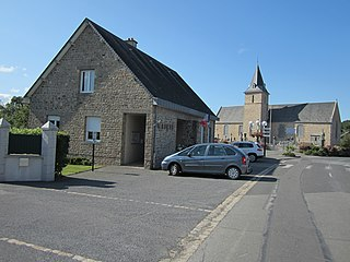 Saint-Senier-sous-Avranches Commune in Normandy, France