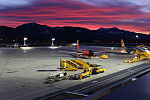 Salzburg Airport at sunrise.jpg
