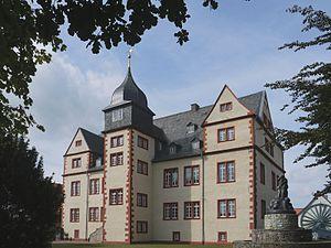 Hermann Korb - Image: Salzgitter Salder Schloss (Parkansicht) 2012 09