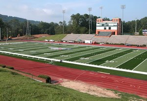 Samford Bulldogs - Seibert Stadium, home of Bulldogs football team.