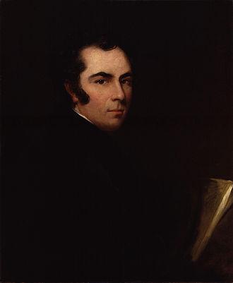 Samuel William Reynolds - Samuel William Reynolds self-portrait