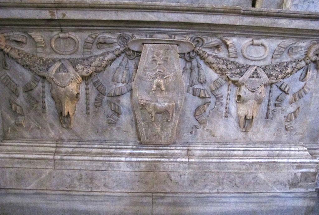 San pietro in vincoli, monumento al cardinale girolamo agucchi, disegnato da domenichino, 04.JPG