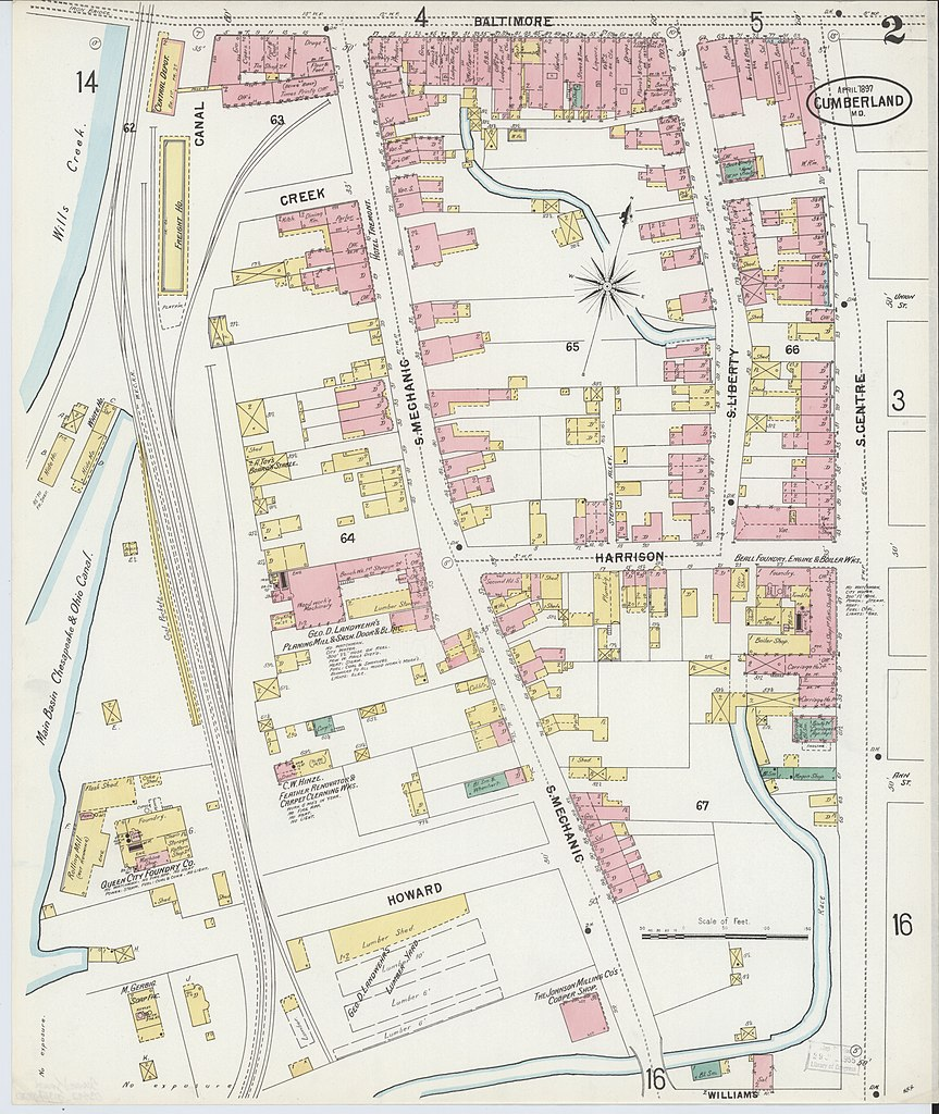 File Sanborn Fire Insurance Map from Cumberland Allegany County