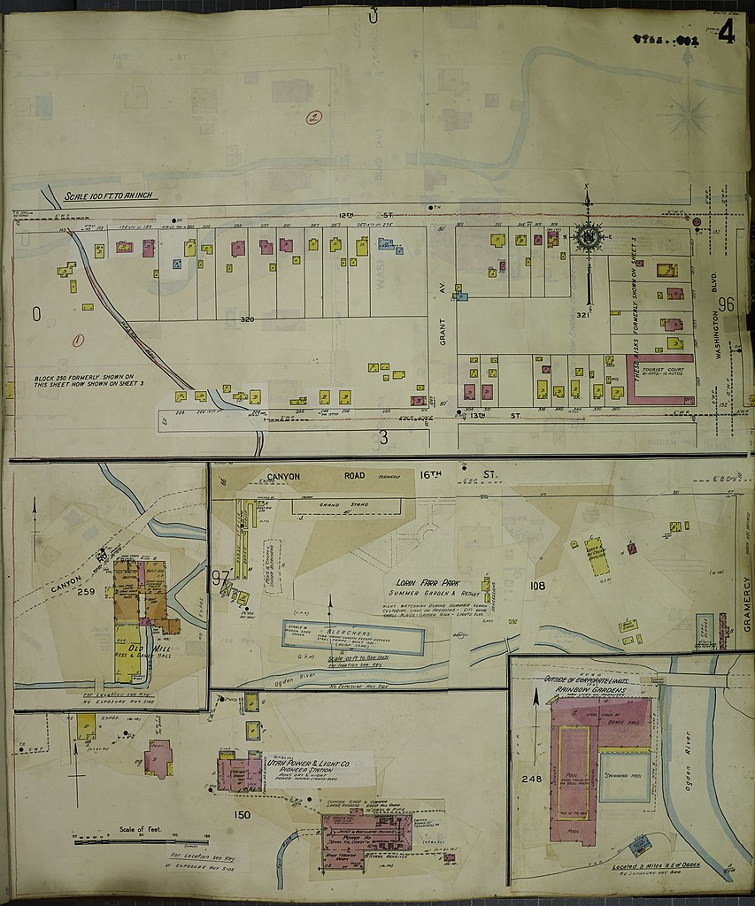 File Sanborn Fire Insurance Map from Ogden Weber County Utah LOC