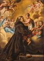 Santo António com o Menino rodeados de Querubins (Escola Portuguesa, séc. XVIII).png