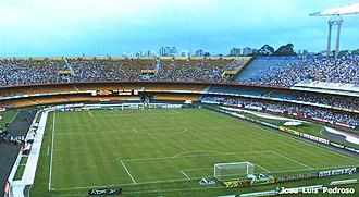 Estádio do Morumbi - Morumbi Stadium during São Paulo against Juventude match, in 2006.