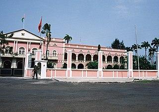Presidential Palace of São Tomé e Príncipe building in Africa