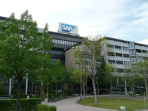 Walldorf - SAP SE head office