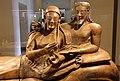 Sarcofago degli sposi, produzione etrusca di influenza ionica, 530-520 ac ca., dalla banditaccia 02.jpg
