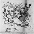 Satterfield cartoon about Mark Hanna considering a second term as a US Senator.jpg