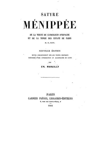 File:Satyre menippee garnier freres 1882.djvu