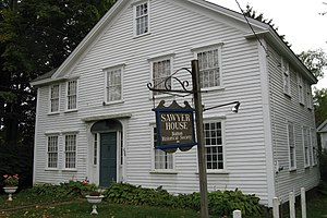 Bolton, Massachusetts - Sawyer House, Bolton Historical Society
