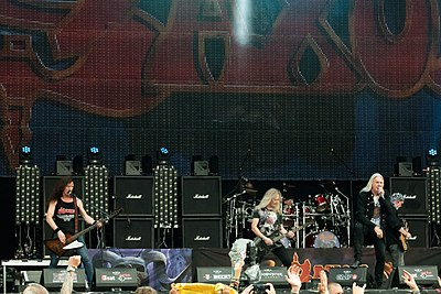 Picture of a band or musician: Saxon