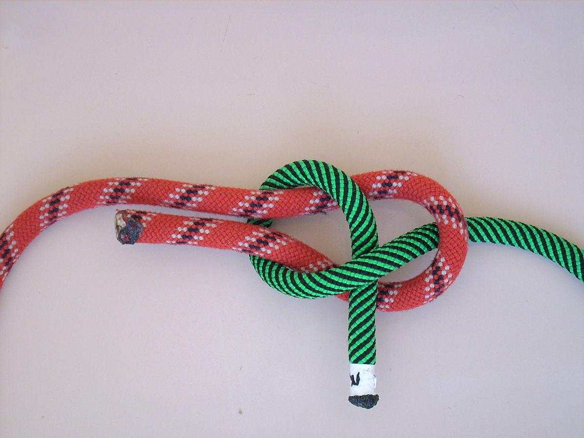 Nodo bandiera wikipedia for Nodo invisibile per unire due fili di lana