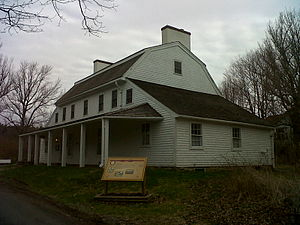 Scott Manor House - Scott Manor House (built between 1769 and 1772 on the land of Captain George Scott adjacent to Fort Sackville)