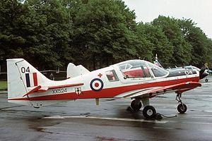 University of London Air Squadron - Scottish Aviation Bulldog T1 of ULAS at RAF Abingdon