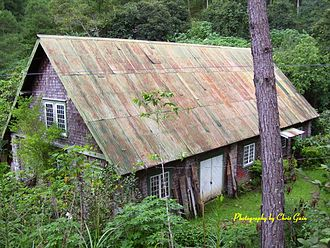William Henry Scott (historian) - Scott's house in Sagada, viewed from the former Training School in 2007