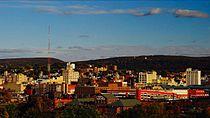 Scranton, Pennsylvania's skyline- --Scranton, Pennsylvania-- is the largest city in the northeastern part of Pennsylvania- 2014-07-07 21-52.jpg