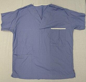 Scrubs (clothing) - A scrub top
