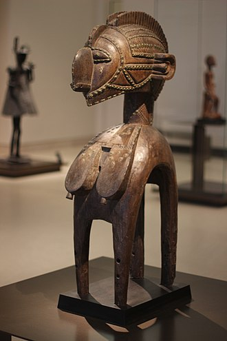 Baga people - Image: Sculpture baga (X Xe s., Musée du Louvre)