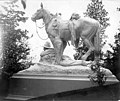 Sculpture of cowboy and horse, Lewis and Clark Exposition, Portland, Oregon, 1905 (AL+CA 2173).jpg