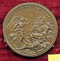 Scuola romana, medaglia di gregorio XIII, 1572, strage degli ugonotti.JPG