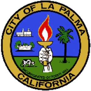 La Palma, California - Image: Seal of La Palma, California
