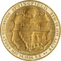 Seal of Springfield, Massachusetts in Gold.png