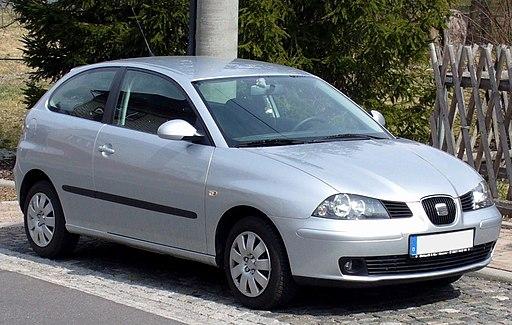 Seat Ibiza 3-door silver