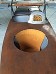 Seats of FBA H flying boat Brussels.jpg