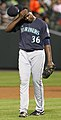 Seattle Mariners starting pitcher Michael Pineda (36) (5708875775).jpg