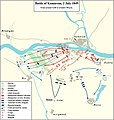 Second Battle of Komárom. The Hungarian counter attack.jpg