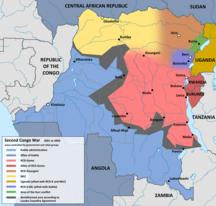 Kongo-Kinshasa-Krigen på 1990-talet-Fil:Second Congo War 2001 map en