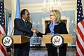 Secretary Clinton Delivers Remarks With Somali President Hassan Sheikh (8390423743).jpg