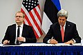 Secretary Kerry and Estonian Foreign Minister Paet Sign the U.S.-Estonia Cyber Partnership Statement (11191898305).jpg