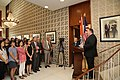 Secretary Pompeo Addresses U.S. Embassy India Staff in New Delhi (29575397137).jpg