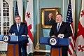 Secretary Pompeo Delivers Remarks at the 2018 Plenary Session of the U.S.-Georgia Strategic Partnership Commission (40448989050).jpg