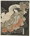 Segawa Kikunojô V in de rol van de vrouwelijke demoon-Rijksmuseum RP-P-1958-478.jpeg
