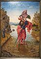 Seguace di jan van eyck, san cristoforo traghetta gesù bambino, 1440-50 ca. 02.JPG