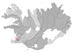 Location of the Municipality of Seltjarnarnes
