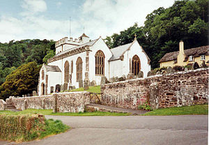 Grade I listed buildings in West Somerset - Image: Selworthy Church