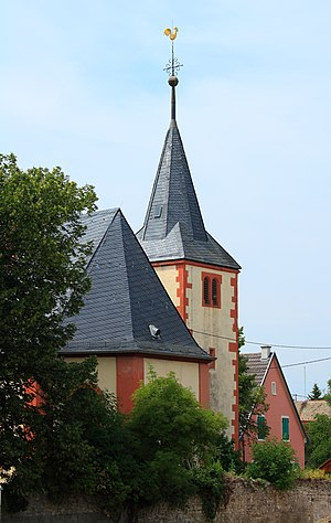 Evangelische Pfarrkirche, barocker Saalbau