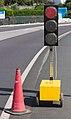 Semaforo en vermello - Traffic light at red state - 01.jpg