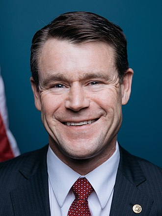 United States Senate election in Indiana, 2016 - Image: Senator Todd Young official portrait (cropped)