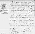 Seraphine Louis Acte de naissance.png
