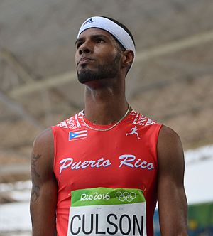 Javier Culson - Culson at the 2016 Summer Olympics