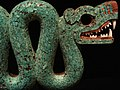 Serpiente bicéfala de mosaico de turquesa. British Museum. MPLC 04.jpg