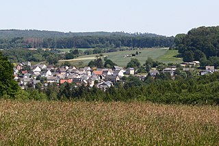 Sessenbach Place in Rhineland-Palatinate, Germany